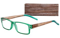 Stockholm glasses (7491) Green-1.25. Carbon neutral, made with recycled materials, recyclable