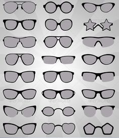 Realistic Graphic DOWNLOAD (.ai, .psd) :: http://jquery-css.de/pinterest-itmid-1006030335i.html ... Sunglasses ...  collection, cool, eye, fashion, frames, glass, icon, lens, modern, optic, polarized, protection, ray, reflection, set, shade, silhouette, spectacles, style, sun, sunglasses, vector, view, vision  ... Realistic Photo Graphic Print Obejct Business Web Elements Illustration Design Templates ... DOWNLOAD :: http://jquery-css.de/pinterest-itmid-1006030335i.html
