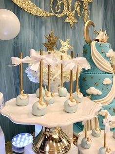 Twinkle Twinkle Little Star Shower  | CatchMyParty.com | Twinkle Twinkle Little Star Birthday Party
