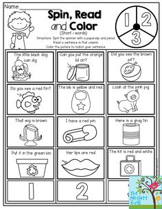 I Can Read! Simple sentences that kids can decode with