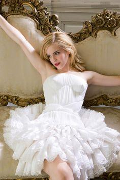 White dress - Emma Watson