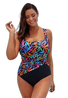 db944f1b4a9 Introducing Jessica London Womens Plus Size Sash Tank Swimsuit Mikado22.  Grab Your Swimsuits Here and