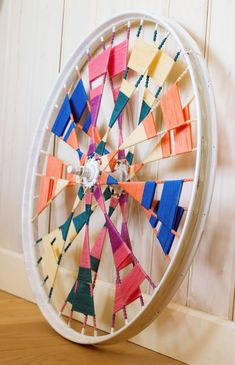10 Creative decor ideas with recycled wheels 10 Creative decor ideas with recycled wheels bicycle wheel wall art The post 10 Creative decor ideas with recycled wheels appeared first on Dress Models. Bicycle Rims, Bicycle Art, Bicycle Wheel, Bicycle Design, Bike Wheels, Weaving Projects, Weaving Art, Diy Projects, Pimp Your Bike