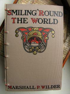 Vintage Book Travel Journal/ Sketchbook OOAK