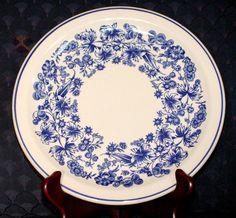 Mayer China Company Delmar Luncheon Plates.