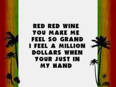 UB40 - Red Red Wine Lyrics! (+playlist)
