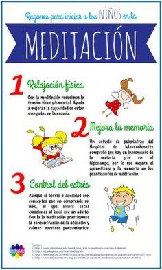 3 Razones para iniciar a los niños en la meditación
