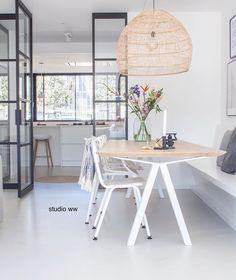Dining Room Inspiration, Interior Inspiration, Küchen Design, House Design, Small Appartment, Doors And Floors, Toscana, Home Decor Kitchen, Interior Design Living Room