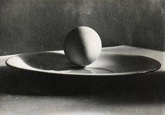 Josef Sudek, Untitled (Egg on a Plate), 1930