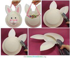 Easter Basket Craft ♥