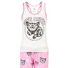 Soft Kitty Ladies' Pajama Set