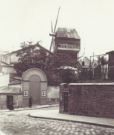 Le Moulin de la Galette, Paris, 1903