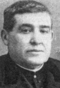 Venerable Francisco Solis Pedraias. Priest in the diocese of Jaen Spain. Martyred in the Spanish Civil War.