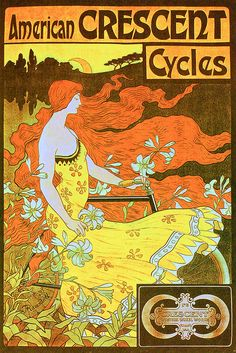I think bikes would sell so much better if they were still advertised like this. :)