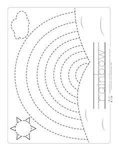 tracing pages for preschool kids worksheets printable preschool worksheets shapes. Black Bedroom Furniture Sets. Home Design Ideas
