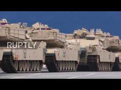 RS Notícias: Alemanha: Tanques dos EUA chegam a Bremerhaven na ...