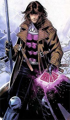Gambit (fr. cover of 'X-Men: Endangered Species' #1) has always been my favorite. I've always wanted to hear him call me 'chere'