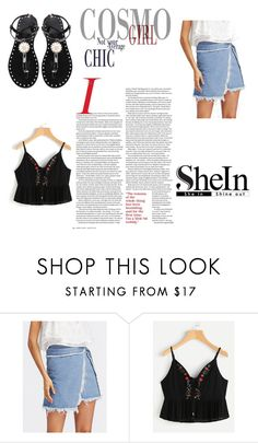 """""""Shein 9/10"""" by zina1002 ❤ liked on Polyvore"""