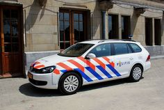 (The Netherlands) Volkswagen Golf 6 Variant Patrol Car. Volkswagen Golf Variant, Vw Golf Variant, Police Cars, Police Vehicles, Emergency Vehicles, Cars And Motorcycles, Netherlands, Amsterdam, Dutch
