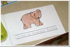 Brown Bear, Brown Bear Book {free download} www.doodlebugsteaching.blogspot.com