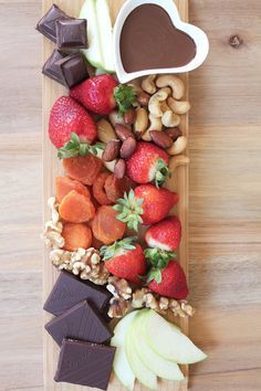 how to style a dessert platter