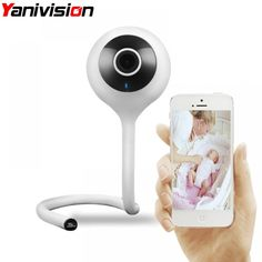 Baby Monitor Wifi IP Camera Mini Nanny Care 720P Wireless Smart Camera Cry Baby Cloud Storage Music Alarm Night Vision  Price: $ 68.99 & FREE Shipping   #computers #shopping #electronics #home #garden #LED #mobiles