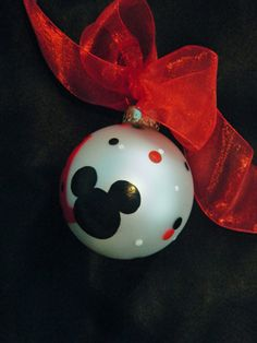 Personalized Mickey Mouse Ornament