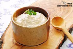 Salsa de queso parmesano y vino de Jerez