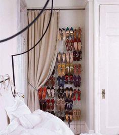 Closet drape