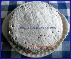 TORTA AL CIOCCOLATO E RICOTTA - farcita con marmellata di fragole - RICETTA CON IL CIOCCOLATO -