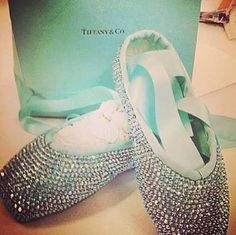 Tiffany and co ballet shoes