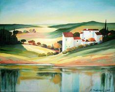 Acrylic painting on canvas 40x60 / Obraz farbami akrylowymi na płótnie 40x60