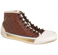 Louis Vuitton Patent & Leather High Shoes UK 7