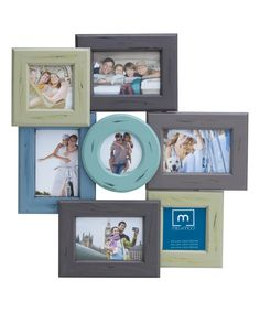 This is different from the normal collage-style frames...would make a good gift...Seven-Photo Collage Frame Set by Lifetime Brands