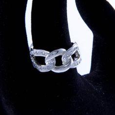 #chain #ring Heart Ring, Silver Rings, Chain, Bracelets, Model, Jewelry, Jewlery, Jewerly, Schmuck