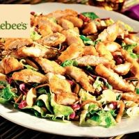 Oriental Chicken Salad-like Applebees!  I LOL when the   waitress asks me if I want a   half or full order~  .. Hey honey,   bring me a truckload~  lovin it~