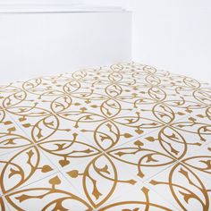 Marockanskt Kakel Casablanca Guld 20x20
