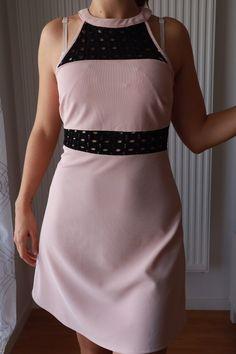 2b82d070ae8 Robe - rose pale et noir - Taille 36