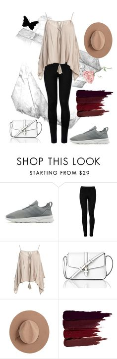 """""""concert ootd"""" by teasingglitter on Polyvore featuring adidas Originals, Wolford, Sans Souci, L.K.Bennett, Satya Twena and Serge Lutens"""