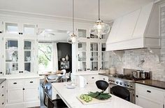 oil brushed bronze knobs white cabinets - Google Search