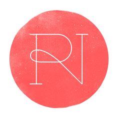 RN logo #design #type