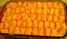 Tonight's Dinner: Chicken tater casserole