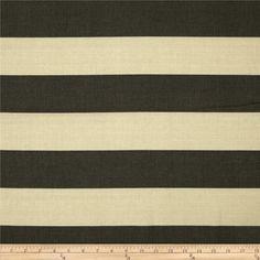 Richloom Beatty Stripe Black/Cream