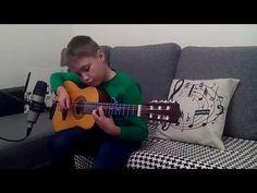 Cosmin Adrian Dumitru - The Beatles - Blackbird (fingerstyle)