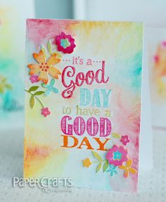 Groovin' with the Go to Gals – Wonderful Watercolor card by Betsy Veldman.