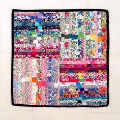 Mini Quilt Liberty Meditation by alipink on Etsy