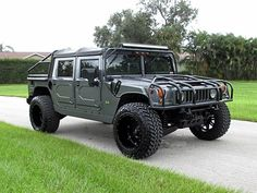 This 2003 HUMMER H1 Open Top is listed on Carsforsale.com in Fort Myers, FL. This vehicle includes 17 Inch Wheels, Abs - 4-Wheel, Axle Ratio - 4.92, Brush Guard - Front, Cassette, Cd Changer, Center Console, Clock, Cruise Control, Dimming Rearview Mirror - Auto, Extended Range Fuel Tank, Exterior Entry Lights, Front Air Conditioning, Front Airbags - Dual, Front Seat Type - Bucket, Front Wipers - Intermittent, Gauge - Tachometer, In-Dash Cd - Single Disc, Limited Slip Differential - Front…