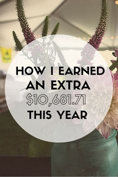 Are you ready to earn more money? Here's how I earned an extra $10,681.71 from blogging, freelance writing, and more. | Cashville Skyline