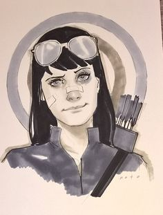 Katherine BISHOP (HAWKEYE) by Phil NOTO | PORTFOLIO: HAWKEYE