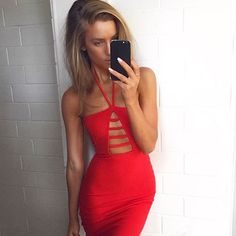 Oh @staceytonkes !! You are just incredible in our Giselle Bodycon via @onsboutique #babe #giselle #lovenookie